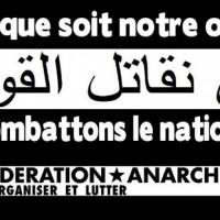 [França] Comunicado da Federação Anarquista Francófona: Contra a repressão estatal e o obscurantismo religioso