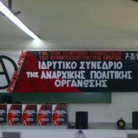 [Grécia] Informações sobre o congresso de fundação da Organização Política Anarquista