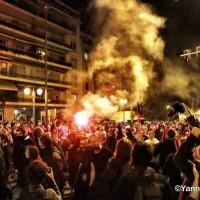 [Grécia] Manifestação em Atenas para marcar revolta estudantil de 1973 termina em confrontos