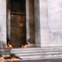 [Grécia] Vídeo: vista da linha de frente da insurreição durante a greve geral grega