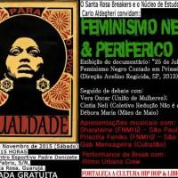 """[Guarujá-SP] É neste sábado: """"Feminismo Negro & Periférico"""""""