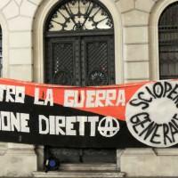 [Itália] Trieste: fotos e relatos da manifestação antimilitarista de 4 de novembro