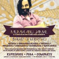 [México] Convocatória gráfica pela vida, saúde e liberdade de Mumia Abu-Jamal