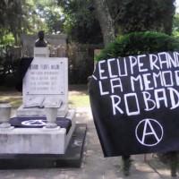 [México] Fotos do ato em memória aos 93 anos do assassinato de Ricardo Flores Magón