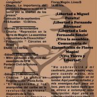 [México] Jornadas Magonistas 2015, na passagem do 93º aniversário do assassinato de Ricardo Flores Magón