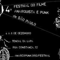 Saiu a programação completa do IV Festival do Filme Anarquista e Punk de SP
