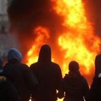 [Alemanha] Polícia e antifascistas entram em choque em Leipzig