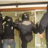 """[Grécia] Vídeo do ataque aos escritórios da """"Teiresias"""""""