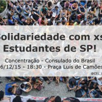 [Portugal] Solidariedade com xs estudantes de São Paulo