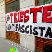 [Itália] Trieste preside ato antifa em 20 de fevereiro