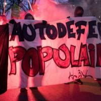 [Bélgica] Manifestação contra a violência policial em Bruxelas
