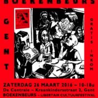 [Bélgica] XV Feira do Livro Alternativo e Libertário de Gand acontece neste sábado