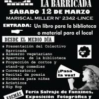 """[Peru] Inauguração do """"Centro Autônomo La Barricada"""" no dia 12 de março em Lima"""