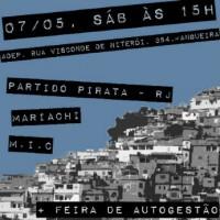 [Rio de Janeiro-RJ] II Roda de Conversa sobre Rádio e Comunicação Libertária | Tema: Mídia-ativismo | Feira da Autogestão + Cineclube