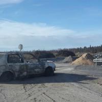 [Finlândia] Carro incendiado para bloquear acesso a construção de nova usina de energia nuclear