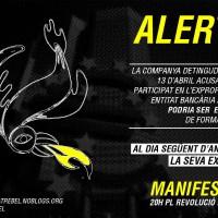 [Espanha] Chamamento para estender a solidariedade com a companheira presa em risco de extradição