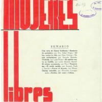 """[Espanha] Lembrando que há 80 anos nasceu a revista """"Mujeres Libres"""" (maio de 1936)"""