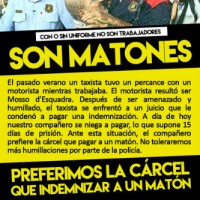 [Espanha] Táxi: preferimos a prisão a indenizar um valentão
