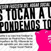 """[Espanha] Um companheiro agredido por membros do """"Hogar Social Madrid"""""""