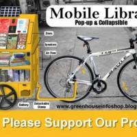[Filipinas] Apoie a biblioteca móvel da Greenhouse Infoshop!