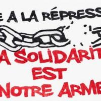 [França] Manifestação contra a repressão aos movimentos sociais, sábado 21 de maio em Lille