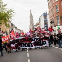 [França] Trezentas pessoas na rua contra a repressão aos movimentos sociais, em Lille