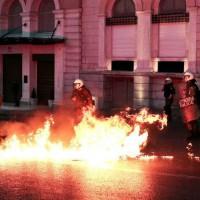 [Grécia] Milhares de pessoas vão às ruas de Atenas contra austeridade