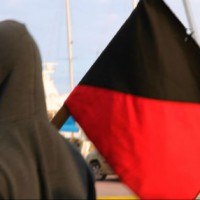 [Grécia] Vídeo: Protesto antifa em Elefsina em solidariedade aos refugiados e contra os fascistas
