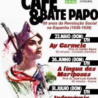 [Joinville-SC] Cinema, café e bate papo: 80 anos da Revolução Social na Espanha (1936-1939)