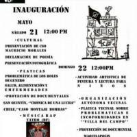 [México] Centro Social Okupado Mauricio Morales será inaugurado neste final de semana