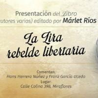 """[Peru] Lima: Segunda apresentação de """"La Lira Rebelde Libertaria"""", recompilação de poesia anarquista peruana"""
