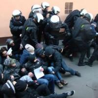 [Polônia] Poznan: Três meses preso por bloqueio de despejo