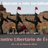[Portugal] Encontro Libertário de Évora, 28 e 29 de maio