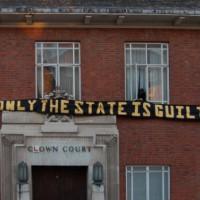 [Reino Unido] Londres: ocupado o antigo Tribunal da Coroa em Southwark