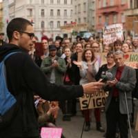 [República Tcheca] Em Praga, manifestação de apoio ao anarquista da Rússia Igor Chevtsov