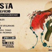 [Chile] Santiago: Festa em benefício do Projeto Educativo Libertário