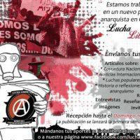 """[Colômbia] Recepção de artigos para o jornal """"Lucha Libertaria"""""""