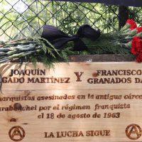 [Espanha] Crônica da homenagem a Delgado e Granado (fotos, vídeo e áudio)