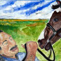 """[EUA] Nova Pintura e Mensagem de Marius Mason: """"Obama, conceda clemência a Leonard Peltier"""""""
