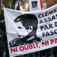 [França] Paris: Manifestações por Clément Méric