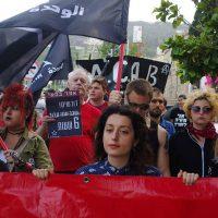 [Israel] Vídeo: Em Haifa, 1º de Maio anarquista reúne cerca de cem pessoas