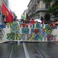 [Itália] Um 2 de junho de luta contra o exército e as fronteiras