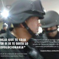 [México] Apesar da repressão seguiremos indo às ruas. Texto sobre as detenções no dia 20 de junho.
