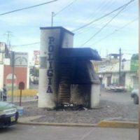 [México] Módulos da polícia em Huajuapan são atacados por morte de Salvador Olmos
