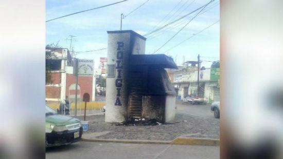 mexico-modulos-da-policia-em-huajuapan-sao-ataca-1