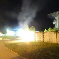 """[Ucrânia] Ação incendiária contra o golfinário """"Nemo"""" pela Frente de Libertação Animal de Kiev"""