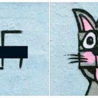 [Alemanha] Artistas de Berlim transformam cruzes gamadas em obras de arte