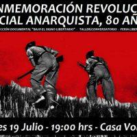 [Chile] Comemoração pelos 80 anos da Revolução Social Anarquista