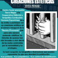 "[Colômbia] Convocatória ""Revista Abolicionista Piromanía"""