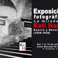 [Espanha] Exposição fotográfica: O olhar de Kati Horna - Guerra e Revolução (1936-1939)